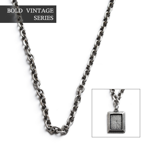 Series Simple Antic Oil Chain Necklace