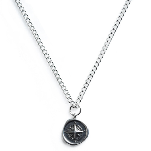 A Compass Stone Necklace